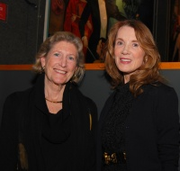 Preservation Kentucky honorees Edie Bingham and Linda Bruckheimer.  Photo by Becky Gorman.