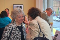 Preservation Kentucky members socializing after the annual meeting.  Photo by Becky Gorman.